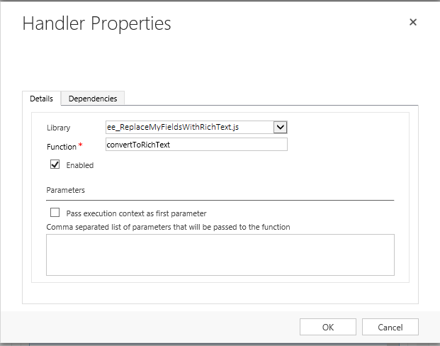 How to enable Rich Text in Dynamics CRM using CKEditor – A Software