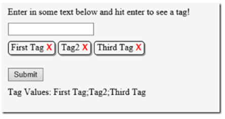 Nifty and FAST 'Tags' in the browser using JQuery, HTML, CSS